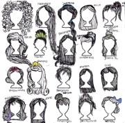 disney princess drawing hair art