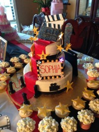 A star is born baby shower cake | Baby shower ideas ...