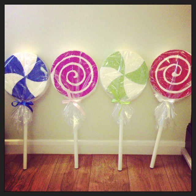 Giant Lollipop Props Giant Lollipops Show Pinterest
