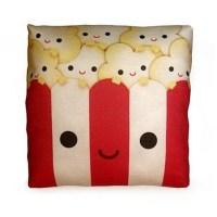 Mini Pillow - cute popcorn cushion for movie night ...