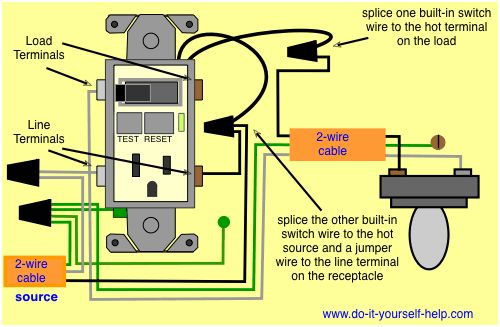 Gfci Wiring Diagram