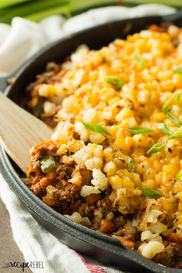 Taco Beef And Potato Skillet Recipe Skillets Mexican
