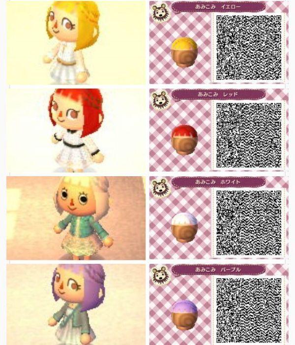 30 Animal Crossing New Leaf Hairstyles Purple Hairstyles Ideas