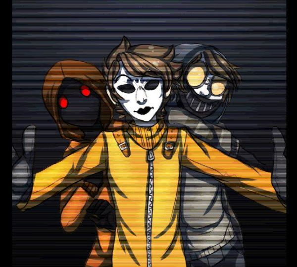 Masky X Cat X Hoodie By Princesssaturania On Deviantart - MVlC