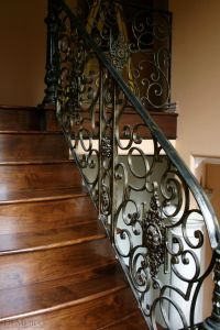 Smooth to the touch and made from hand-forged wrought iron ...