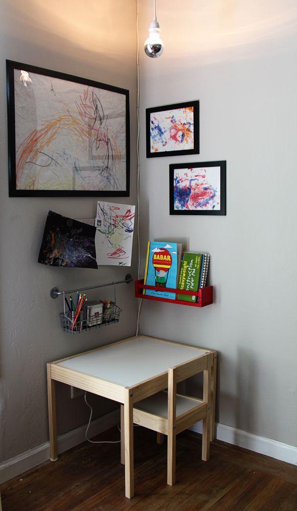 25 best ideas about Art corner on Pinterest  Kids art