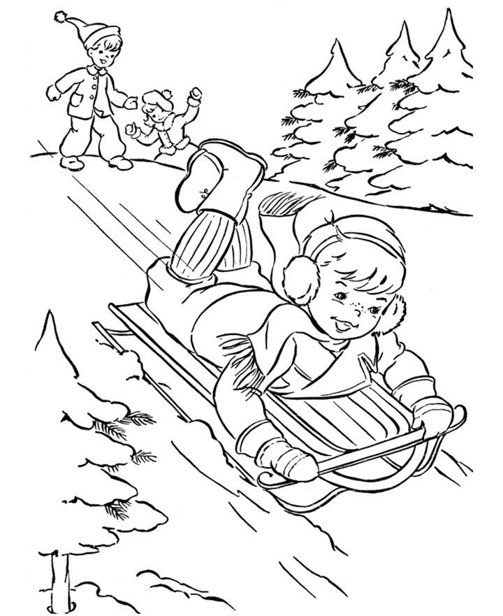Župa Bezgrešnog srca Marijina : Bojanke : Razigrani Božić