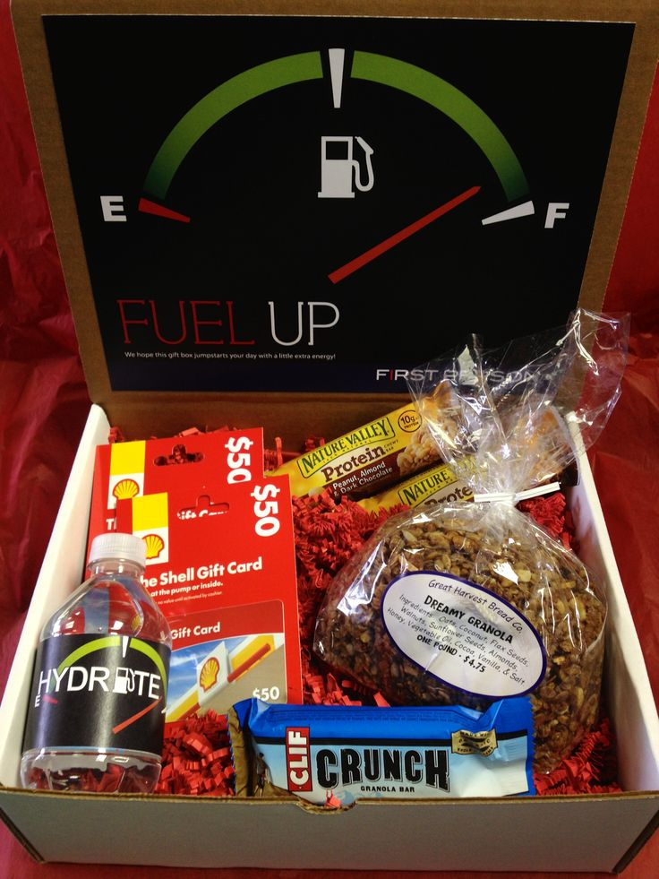 """Fuel Up! We Hope This T Box Jumpstarts Your Day With A"