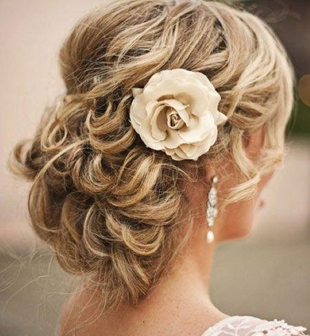 10 Bridal Hairstyles For Medium Length Hair  Updo