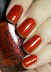 dark orange nail polish - google