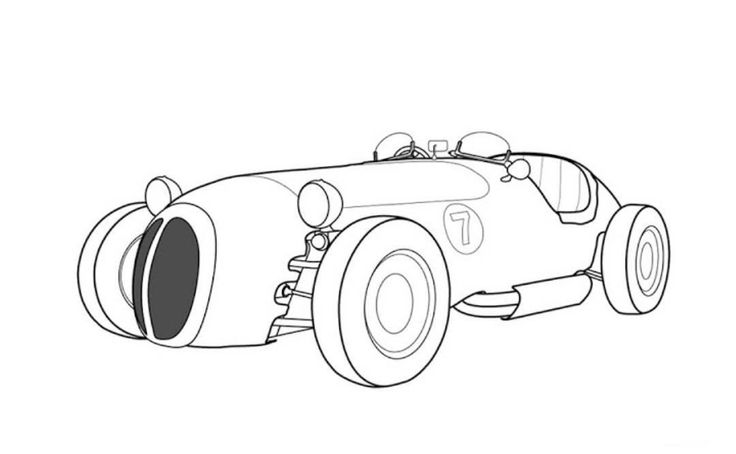 Jaguar F Type Car Coloring Pages Sketch Coloring Page
