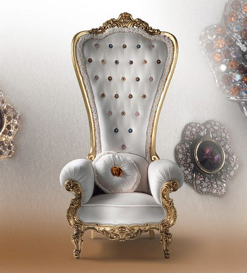 Home  Chair King and Queen Regal Armchair Throne by