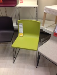 Lime Green Leather Dining Chair - Ikea | Home Inspiration ...