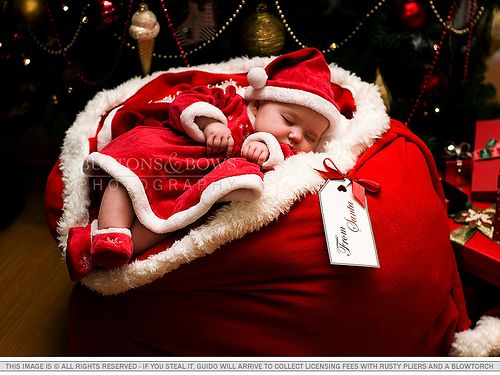 Ive been good, Santa.  Bring me this cute little baby! Ill add her to my cute baby collection. I dont have a girl yet.