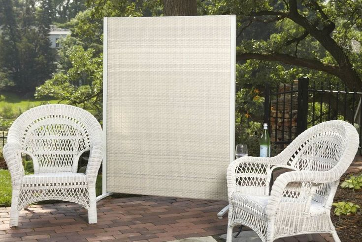 How To Build A Portable Outdoor Privacy Screen