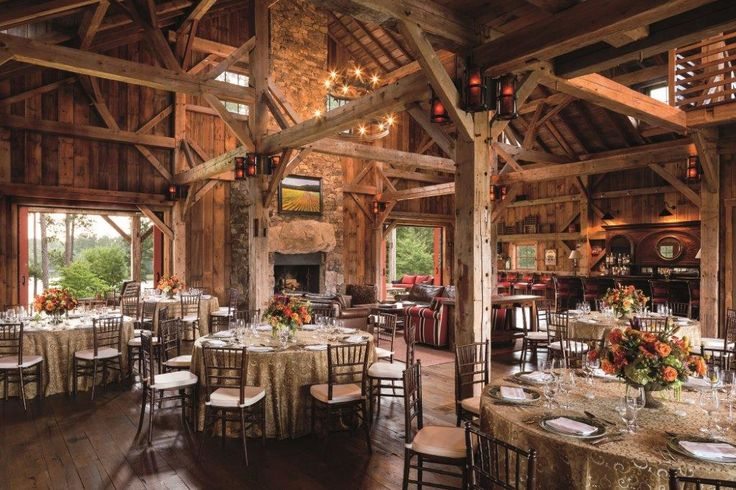 The Sandy Creek Barn at The RitzCarlton Lodge in