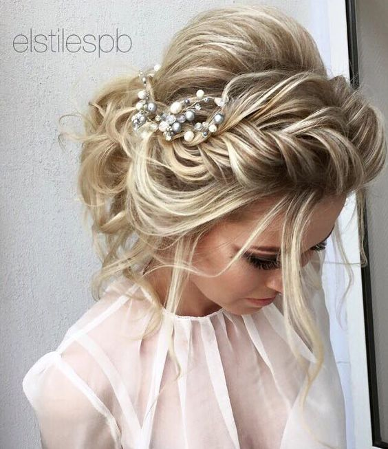 25 Best Ideas About Messy Wedding Hair On Pinterest Ball Hair