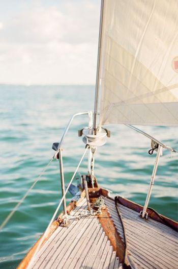 Summer sailing.