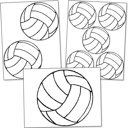 25+ best ideas about Volleyball decorations on Pinterest