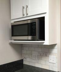 Best 20+ Microwave shelf ideas on Pinterest | Open kitchen ...