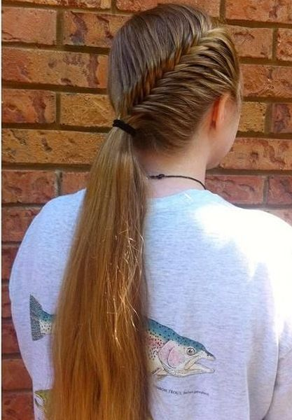 25 Beste Ideeën Over Softball Hairstyles Op Pinterest