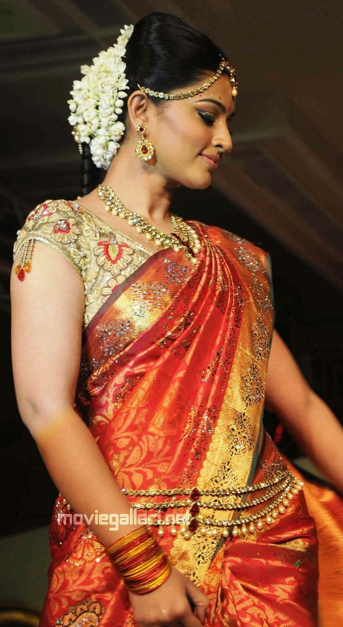 77 best images about South Indian Bride  Styles on Pinterest  Traditional Hindus and Indian