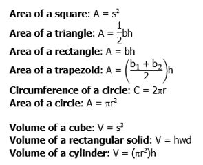 25+ best ideas about Math Formula Sheet on Pinterest