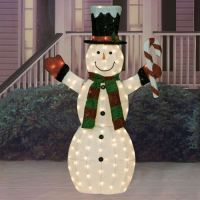 Outdoor Indoor Holiday Yard Art Decoration LARGE CHRISTMAS ...