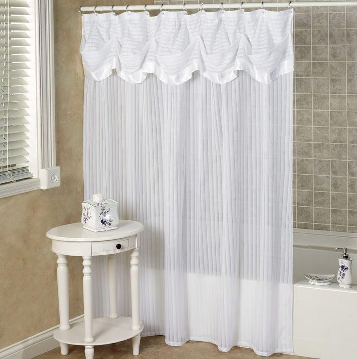 25 Trending Shower Curtain Valances Ideas On Pinterest Bathroom