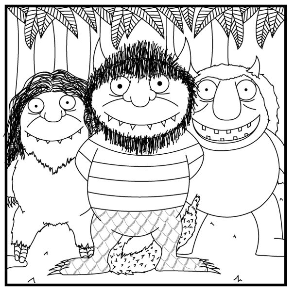24 best images about Where the Wild Things Are on