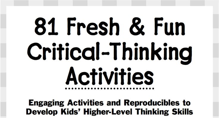 25+ best ideas about Critical thinking on Pinterest