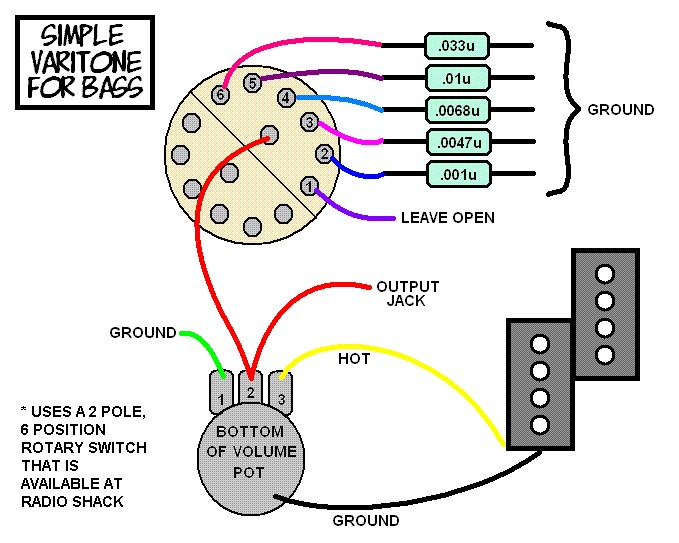 5 Way Switch Wiring Diagram Stratocaster With A Simple Varitone Circuit For Your Bass Talkbass