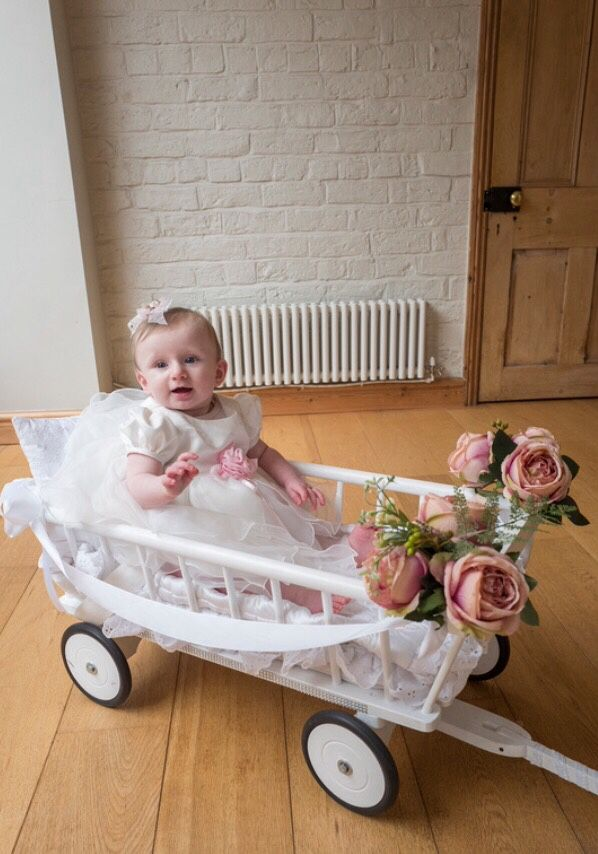 Baby Wedding Wagon To Bring Your Little One Down The Aisle