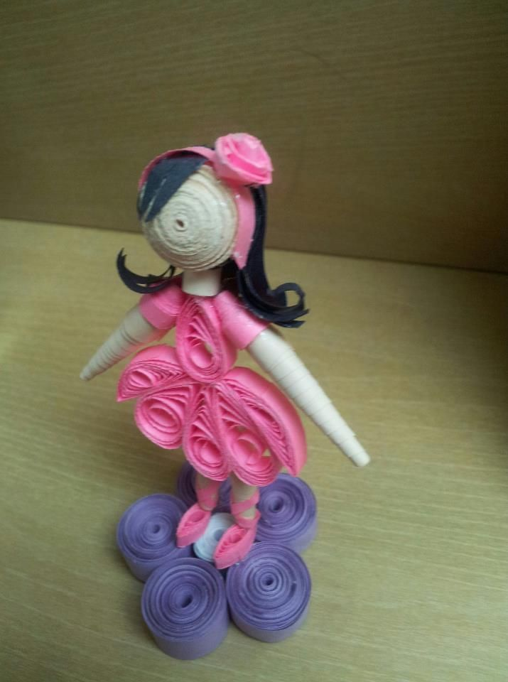 1000 Images About Dolls Made In Quilling On Pinterest