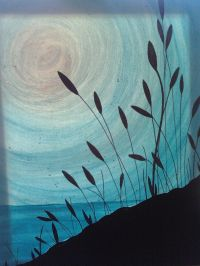 Monochromatic silhouette   Art (Landscapes and Cityscapes ...