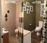 Small Bathroom Remodels Before and After | Small Bathroom ...