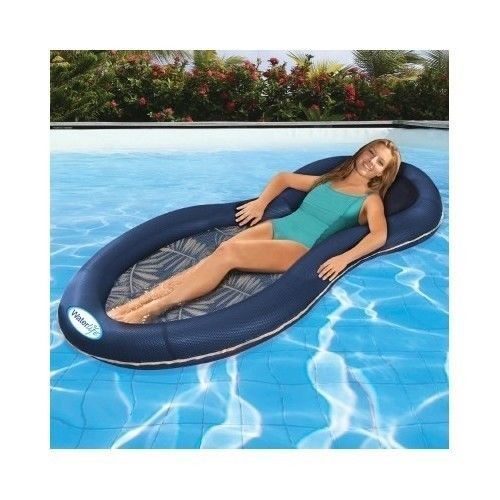 Pool Lounger Lounge Floating Inflatable Float Raft Chair