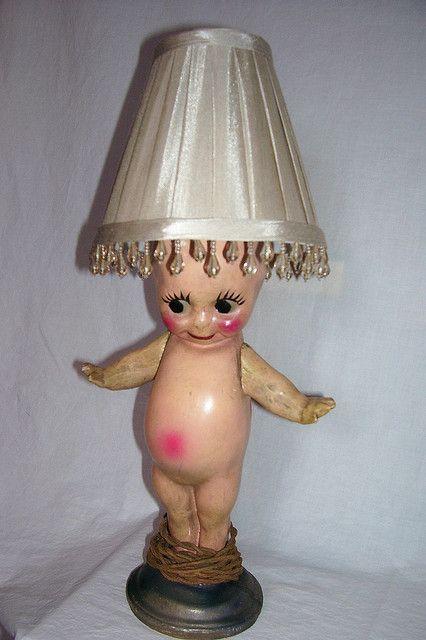 Kewpie Doll Lamp  Of Mice and Men  Pinterest  Kewpie
