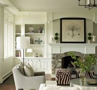 17 Best ideas about Bookshelves Around Fireplace on ...
