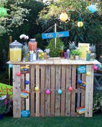 The 25+ best ideas about Outdoor Pallet Bar on Pinterest ...