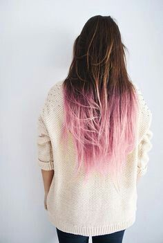 brown hair with pink tips for melanie pinterest cool kids brown hair and feelings