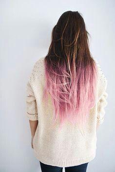 brown hair with pink tips for melanie pinterest cool kids brown hair and feelings