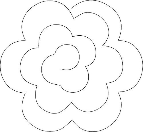 604 best images about Paper/Ribbon Flowers on Pinterest