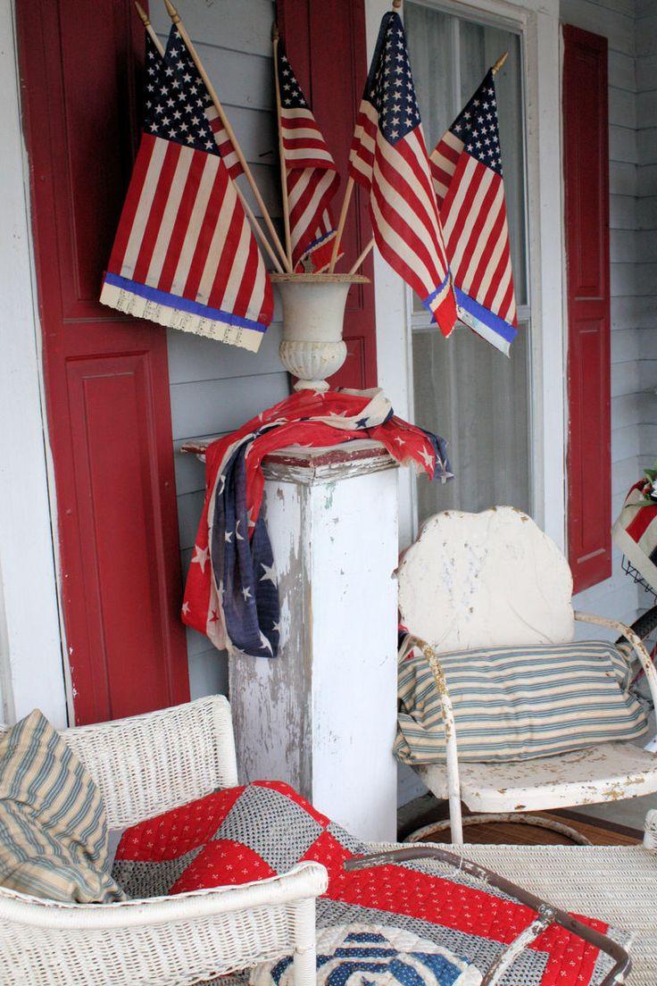 20 best images about Vintage Patriotic Decor on Pinterest