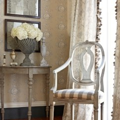 Living Room Drapery Ideas For Side Tables Charles Faudree Stroheim Collection. Wallcovering ...