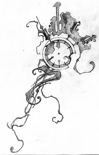 1000+ ideas about Pocket Watch Tattoos on Pinterest