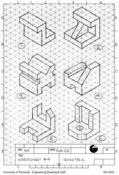 25+ best ideas about Isometric drawing on Pinterest