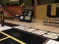 Billings High School! Bleacher model scoring table by ...