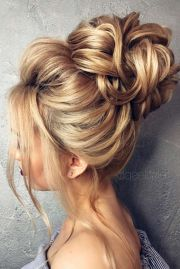 ideas high updo