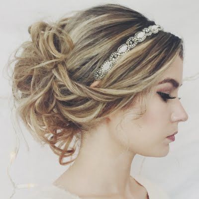 25 Best Ideas About Headband Hairstyles On Pinterest Headband
